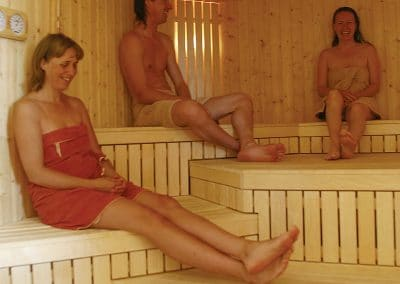 In the Sauna