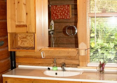 The Bath Room / Toilet in the main Log House