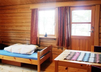 1. floor Double / Triple Room in the Main Log House