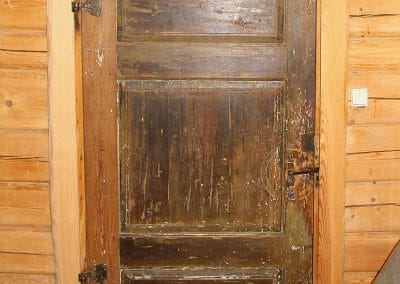 Old Door from the 17th Century in the 2. floor