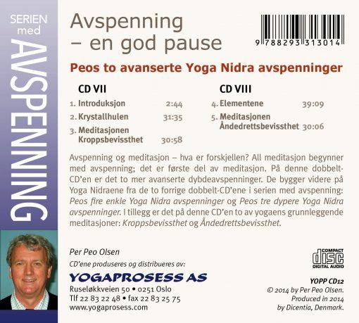 Peos to avanserte Yoga Nidraer