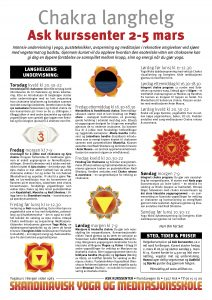 Acrobat PDF brosjyre om Chakra langhelgen