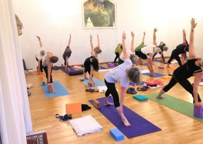 Yoga Group In The Yoga Studio