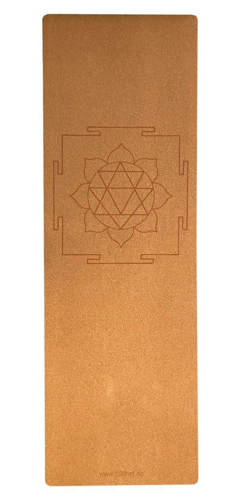 Kork yogamatte - Yantra